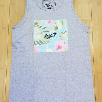 """Local Motion """"Evergreen"""" Mens Heather Tank Top"""