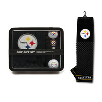 Pittsburgh Steelers Golf Gift Set with Towel