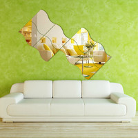 Mirror Decoration Sofa Wall Sticker [6283173254]