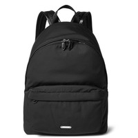 Givenchy - Leather-Trimmed Canvas Backpack
