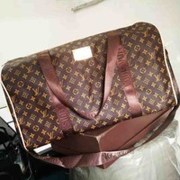 Louis Vuitton LV Fashionable Women Leather Luggage Large Capacity Travel Bags Tote Handbag I/A