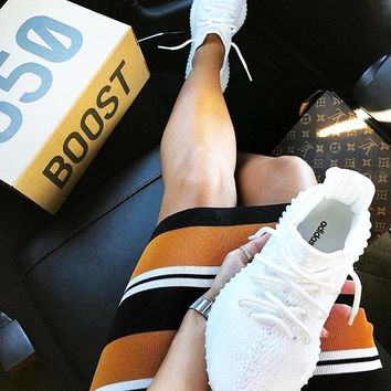 Adidas Yeezy 550 Boost 350 V2 Stylish Unisex Casual Sport Running Shoe Sneakers
