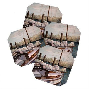 Rosie Brown Timmys Ship Coaster Set