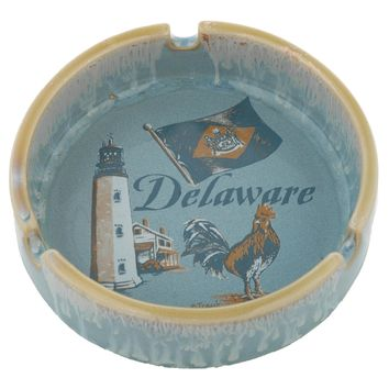 ATDE3 Ashtray Drip Glaze Delaware