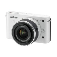 Nikon 1 J1 10MP Digital Camera with Interchangeable Lens - White