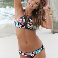 RIP CURL Sweet Escape Hi Neck Bikini Top