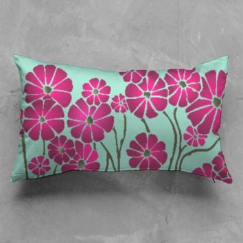 Flower Fun Accent Pillow