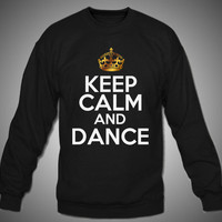 Black Keep Calm and Dance
