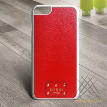 kate spade red Custom case for iPhone, iPod and iPad