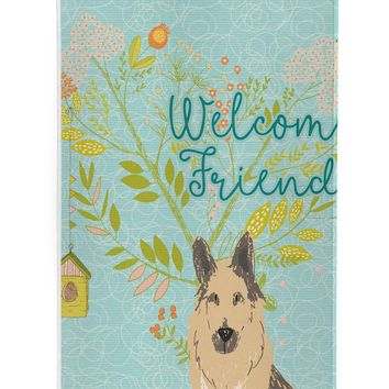 Welcome Friends German Shepherd Michelob Ultra Hugger for slim cans BB7578MUK
