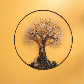 Tree Of Life sculpture wall decor, Ancient Tree, metal Tree wall hanging art, handmade Spring celebration home decor gift idea