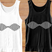 Arctic Monkeys Wave Noise logo Tank Top,  Clothing,  T shirt, Tank Top Girls, Tank Top Womens, Tank Top Mens, Screenn Print