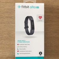 BRAND NEW Fitbit Alta HR Activity Tracker + Heart Rate | GREY | SMALL | FB408SGY