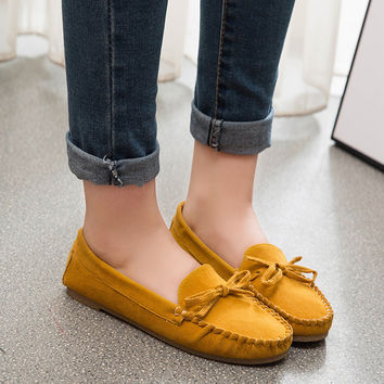 Flats Autumn Soft Tods Shoes [8865370892]
