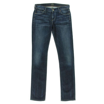 Citizens of Humanity Womens Ava Stretch Low-Rise Straight Leg Jeans