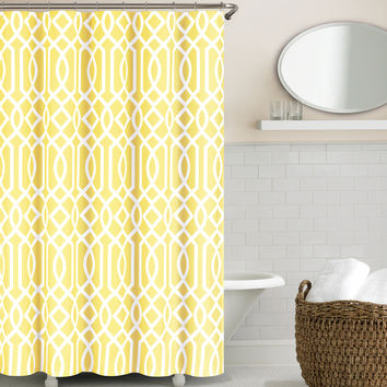 Echelon Home Irving Place Shower Curtain | Overstock.com Shopping - The Best Deals on Shower Curtains