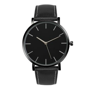 Quartz Watch Men Women Famous Brand Leather Band Wrist Watches Luxury