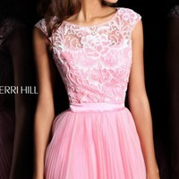 Sherri Hill 21167 | Short Sherri Hill Dress | Open Back Homecoming Dress | Terry Costa: Prom Dresses Dallas, Homecoming Dresses, Pageant Gowns