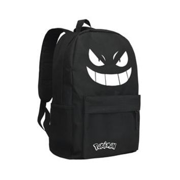 Girls bookbag Japan Anime Pocket Monster Backpack Poke Ball Pokemon Schoolbag for Boys and Girls Kids Bookbag AT_52_3