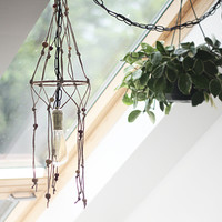 DIY Hemp Beaded Macramé Light Fixture - Free People Blog