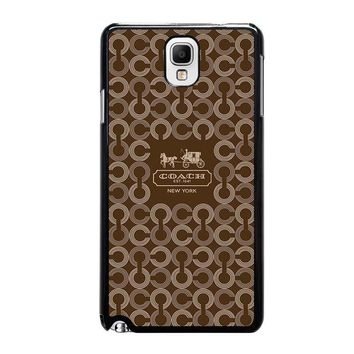 coach new york 1941 samsung galaxy note 3 case cover  number 2