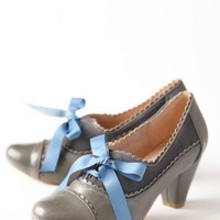 madison oxford gray pumps by Chelsea Crew at ShopRuche.com