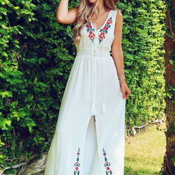 Where I Belong Maxi: White/Multi