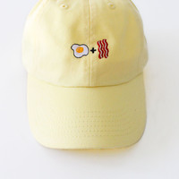 Egg & Bacon Cap - Yellow
