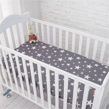 100% cotton newborn bed sheets with lovely printing 148X91cm