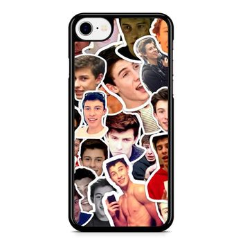 Shawn Mendes Collage 2 1 iPhone 8 Case