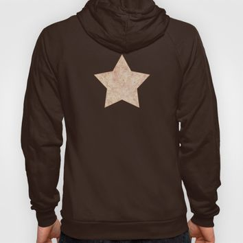 Iced coffee and white zentangles Hoody by Savousepate