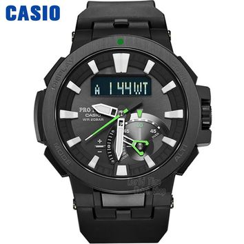 Casio watch Six Board radio solar energy multi - sensor waterproof climbing table PRW-7000-1A PRW-7000-1B PRW-7000FC-1P