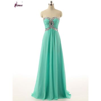 100% Real Photo Latest Designs Prom Long Chiffon Cheap Evening Dress 2016 Formal Evening gown