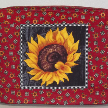 Sunflower Toaster Cover - 2 Slice Toaster Cover
