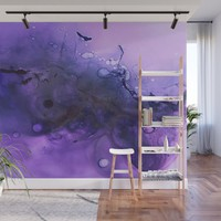 Sahasrara (crown chakra) Wall Mural by duckyb