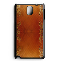 Wooden Surface Samsung Galaxy Note 3 Case