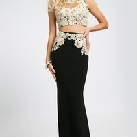 Two-Piece Prom Dress 94306 - Prom Dresses