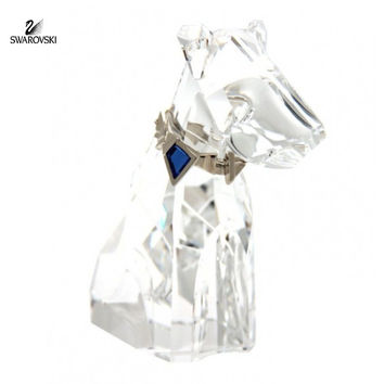 "Swarovski Crystal Figurine Wire Fox Terrier ""The Dog"" #289202"