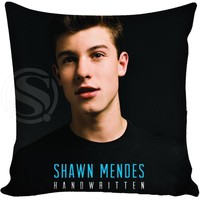 Custom Pillowcase Cover Shawn Mendes square zipper Pillow Cover Print Your Pictures 20x20cm,35x35cm(one side)