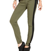 Chord Juniors Pants, Skinny Tuxedo-Stripe - Juniors Pants & Capris - Macy's