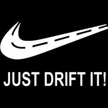 Just Drift Vinyl Car Decal