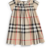 Toddler's Cotton Check Dress