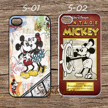 Disney mickey mouse, iphone 4/4s,5/5s,5c, samsung galaxy s3,s4,s5 (mini), galaxy note 2,3, ipod touch 4,5