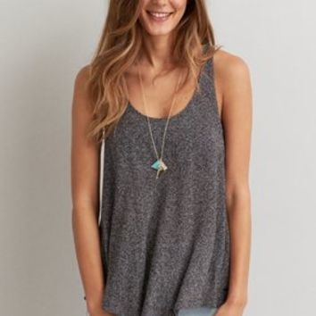 AEO Soft & Sexy Swing Tank , Black | American Eagle Outfitters