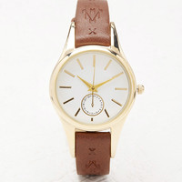 Southwestern-Patterned Faux Leather Watch