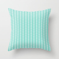 THIS WAY - OR THAT WAY? Throw Pillow by Allyson Johnson