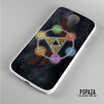 Zelda Triforce Element Samsung Galaxy S4 Case