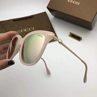 GUCCI Women Fashion Casual Shades Eyeglasses Glasses Sunglasses