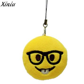 Bag Accessories Emoji Smiley Emoticon Despise Toy Gift Cute Lovely Pendant of Bag Accessory  #7712