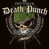 Five Finger Death Punch - Warhead Music Fabric Poster